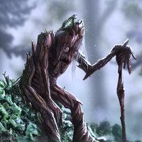 El curandero de árboles