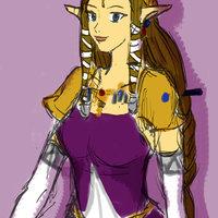 Princesa Zelda-Pruebas en digital