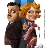 Bestias Fantasticas - Queenie y Jacob