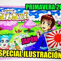 Especial Hanami, ilustración, HOW TO DRAW ART.