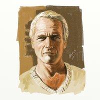 Paul Newman en Artrage4