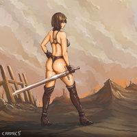 Proyecto Extremi Warrior Girl