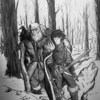 Jon Snow & Mormont