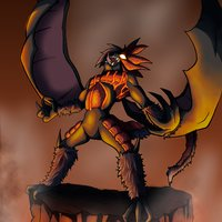 OC Demon - Tribute to anime ''Devilman: Crybaby''
