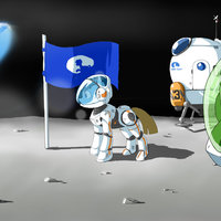 Equinos astronautas