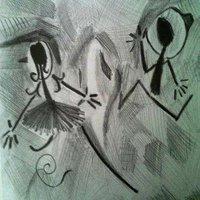 los dos llaneros amándose