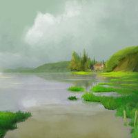 paisaje de la pelicula el recuerdo de marnie