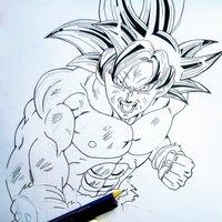 Goku Ultra Instinto Dominado _ DBS Box 11 Takahashi Style