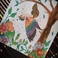 No tengas miedo, extiende tus alas mi pequeña mariposa.