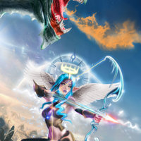 Angel y dragon