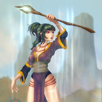 The Mountain Sorceress