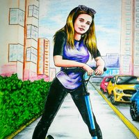 Chica en la calle