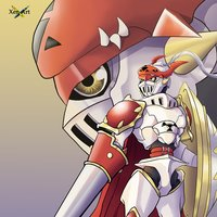 Dukemon/Gallantmon - Royal Knight Digimon