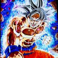 Son Goku Ultra Instinc_ Yuya Takahashi Style