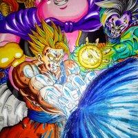 Poster Fan Art Saga de Majin Buu