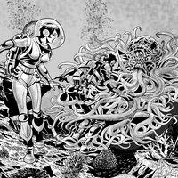 Cefalópodo en Venus.