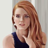 Jessica Chastain Portrait
