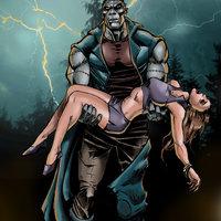 El monstruo de Frankenstein.