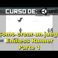 Como crear un videojuego en unity - Endless Runner parte 1