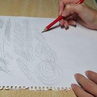 Calentamiento de mano para dibujar
