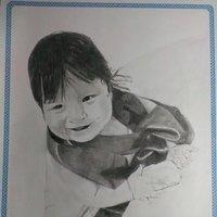 retrato de un bebe
