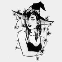 INKTOBER DAY 30 Ivy witch