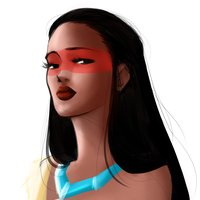Speed painting/ fan art Pocahontas