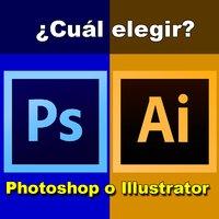 Photoshop o Illustrator ¿Cual elegir?