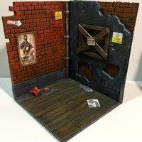 dioramas para figuras varios materiales