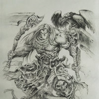 Darksiders - Boceto