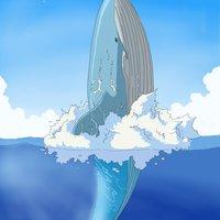 La ballena azul.