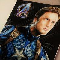 Avengers End Game: Capitan America