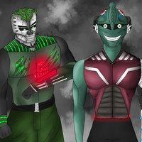 Personaje Numero 71 (Rodem y Helio)