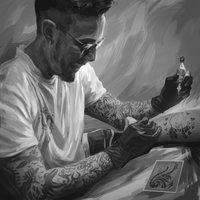 Un inocente tatuaje