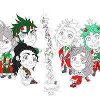 Navidad 2017 con mis personajes