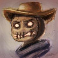 Cowboy Scaredcrow