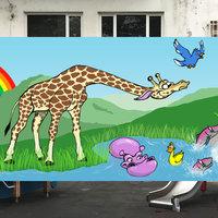 Boceto para mural en colegio