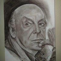 Retrato Eduardo Galeano