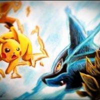 Pikachu vs Lucario