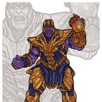 Thanos // Avengers: Infinity War - Endgame