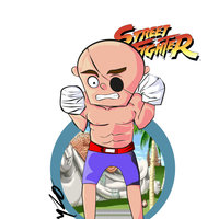 SAGAT STREET FIGHTERS