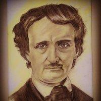 Retrato Edgar Allan Poe