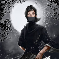 Mujer ninja