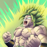 Fan Art of Broly from Dragon Ball Super