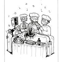 Caricatura de humor: cirugía