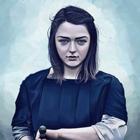 Arya Stark fanart
