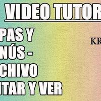 Tutorial 11 Krita en español - Capas y Menus (Archivo, Editar, Ver)