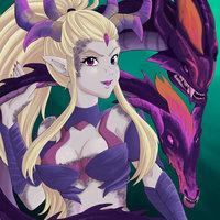 Zyra -dragon sorceress skin