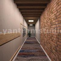 Modernas empresas residenciales y comerciales de diseño de interiores en 3D