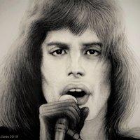 FREDDIE MERCURY -  1974 - Mi Eterno Tributo a Una Estrella Fugaz